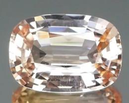 *NR* PADPARADSCHA Sapphire from Sri Lanka 0.1.34Ct NO HEAT Certified