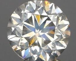 *NR* Off White Champagne Round Brilliant Diamond NO TREATMENT 1.01Ct