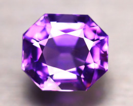Amethyst 11.54Ct Natural Uruguay Electric Purple Amethyst D1814/C4