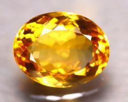 Citrine 5.03Ct Natural VVS Golden Yellow Color Citrine D1820/A2
