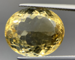 16.30 Cts Excellent Yellow Citrine With Good Luster. Ctr-5828