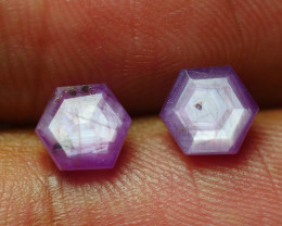 4.720 CRT PAIR BEAUTIFUL FACETED AMAZING MADAGASCAR RUBY -