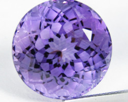10.35Cts Amazing Natural Amethyst Round precision Cut Loose Gem VIDEO