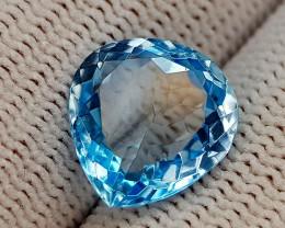 5.48CT BLUE TOPAZ BEST QUALITY GEMSTONE IIGC74