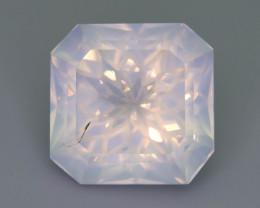 Rare Peach Pink 15.35 ct Feldspar Moonstone~Flower Cut