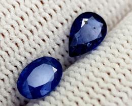 1.15CT BLUE SAPPHIRE HEATED BE BEST QUALITY GEMSTONE IIGC74