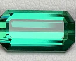 Emerald Cut Greenish blue Tourmaline