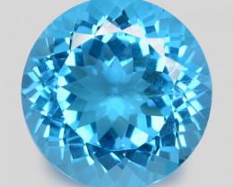 Topaz 31.08 Cts Swiss Blue Natural Gemstone