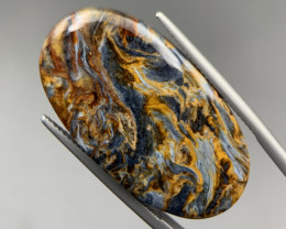 23.55 Cts AAA Quality Pietersite with Awesome Texture Cabochon. Pt-62830