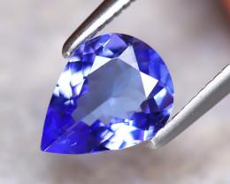 Tanzanite 1.08Ct Natural VVS Purplish Blue Tanzanite E1908/A45