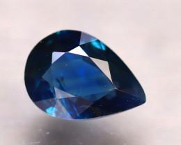 Unheated Sapphire 0.77Ct Natural Blue Sapphire E1911/B9