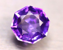 Amethyst 10.10Ct Natural Uruguay Electric Purple Amethyst E1924/C4