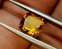 1.61Crt Madeira Citrine Natural Gemstones JI66