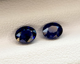 1.22Crt Blue Sapphire Heated BE Natural Gemstones JI66