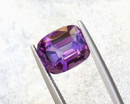 5.40 Carats Natural Amethyst Cut Stone from Africa