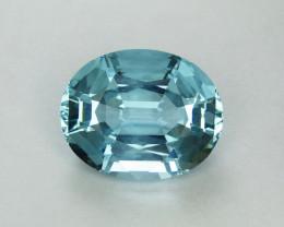 Aquamarine 33.40 ct Natural Oval Aquamarine Gemstone