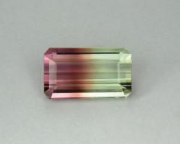 Tourmaline 6.11 Natural Bi Color Tourmaline Gemstone