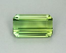 Tourmaline 22.74 Natural Green Tourmaline Gemstone