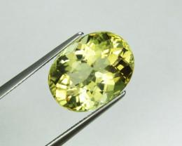 Tourmaline 10.20 Natural Yellow Tourmaline Gemstone
