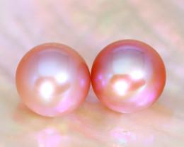 8.0mm 7.19Ct Natural Australian South Sea Purple Color Pearl B1732