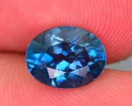 Ring Size Topaz 2.15 Ct Natural London Blue Topaz