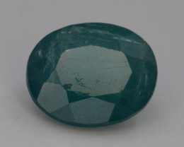 Extreamly Rarest Ct Natural Blue Grandidierite 1.30ct Madagascar Mined