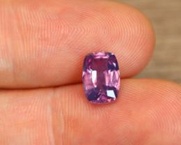 Unheated [GRS] Kashmir Pink Sapphire 2.25ct cushion