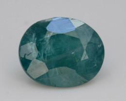 Extreamly Rarest Ct Natural Blue Grandidierite 1.05ct  Madagascar Mined