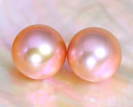 8.2mm 8.05Ct Natural Australian South Sea Pink Color Pearl C1811