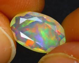 Welo Opal 1.40Ct Natural Ethiopian Faceted Welo Opal E2125/A44