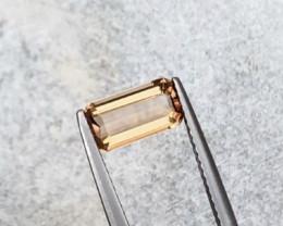 1.65 Carats Natural Topaz Cut Stone from Pakistan