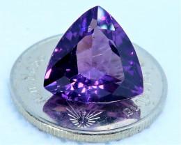 Master cut Amethyst gemstone. RAM 0001
