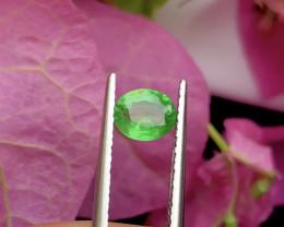 Lovely Cut 0.60 ct Tsavorite Garnet Ring Size