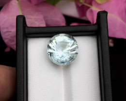 Top Grade 9.00 ct lovely Aquamarine Ring Size