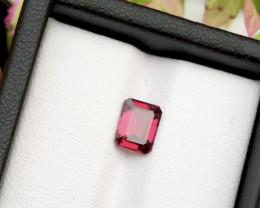 Top Grade 1.45 ct Fancy Cut Red Garnet