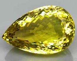 76.61  ct. 100% Natural Top Yellow Lemon Quartz Brazil - IGE Сertified