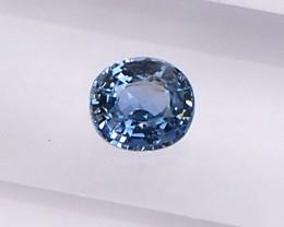 0.51ct Natural unheated blue sapphire
