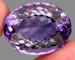 30.51 ct 100% Natural Earth Mined Unheated Purple Amethyst, Uruguay