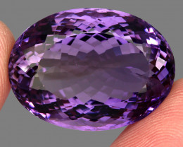 48.24  Ct. Top Quality 100% Natural Rich Purple Amethyst Uruguay Unheated