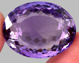 29.93  Ct. Top Quality 100% Natural Rich Purple Amethyst Uruguay Unheated