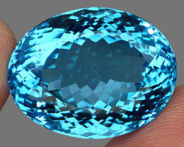 70.80 ct. 100% Natural Earth Mined Top Quality Blue Topaz Brazil