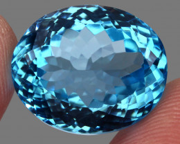 31.88 ct. 100% Natural Earth Mined Top Quality Blue Topaz Brazil