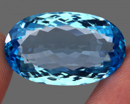 39.08  ct. 100% Natural Earth Mined Top Quality Blue Topaz Brazil