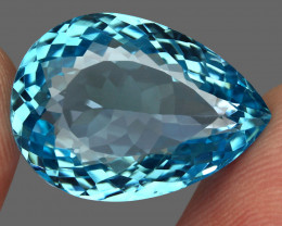 29.44 ct. 100% Natural Earth Mined Top Quality Blue Topaz Brazil