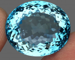 50.86  ct. 100% Natural Earth Mined Top Quality Blue Topaz Brazil