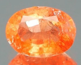 *Bidding Starts $15 NR* Super Rare Orange Triplite 0.76Ct Certified