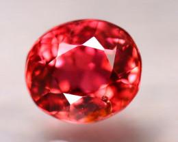 Tourmaline 1.30Ct Natural Reddish Pink Tourmaline D2220/A49