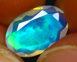 Welo Opal 1.55Ct Natural Ethiopian Faceted Welo Opal D2230/A44