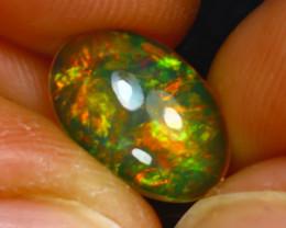 Welo Opal 1.47Ct Natural Ethiopian Play of Color Opal E2328/A3