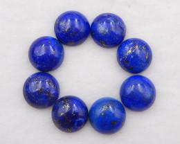 D2073 - 85.5cts Lapis Lazuli cabochons pair,natural Lapis Lazuli gemstone,